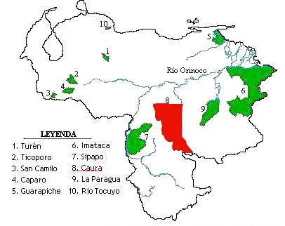 Ubicacion De Los Indigenas Actuales En Venezuela