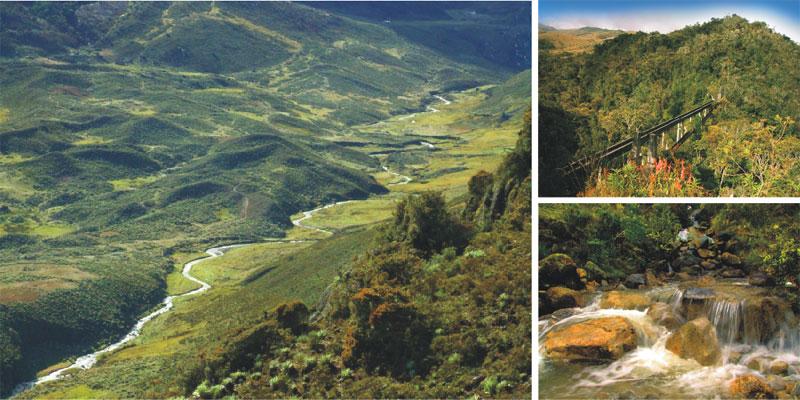 Podemos resaltar el nacimiento de ríos que abastecen de agua a casi 800 mil personas que habitan los pueblos que se encuentran alrededor del Parque:  Jaji, La Azulita, Tucani, La Mesa, Timotes, Sto. Domingo, Apartaderos, Mucuchies, Tabay, Ejido, Lagunillas y La Ciudad de Mérida.